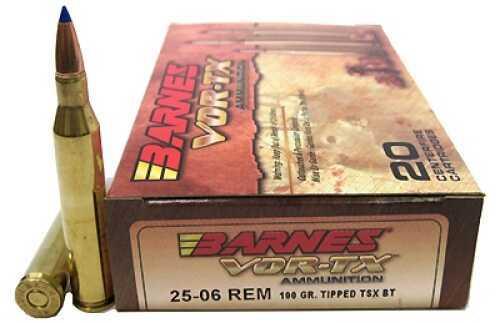 Barnes Bullets 25/06 Remington 100gr TTSX-BT VOR-TX Per 20 21557