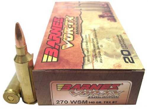 Barnes Bullets 270 WSM 140gr TSXBT VOR-TX Per 20 21559