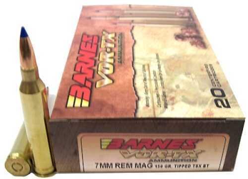 Barnes Bullets 7mm Remington Magnum 150gr TTSX-BT VOR-TX Per 20 21563