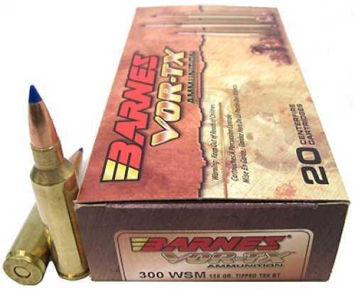 Barnes Bullets 300 WSM 150gr TTSX-BT VOR-TX Per 20 21567