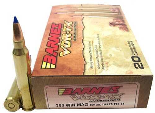 Barnes Bullets VOR-TX 300 Winchester Magnum Per 20 TTSX-BT 150gr 21569