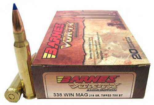 Barnes Bullets VOR-TX 338 Winchester Magnum Per 20 21575