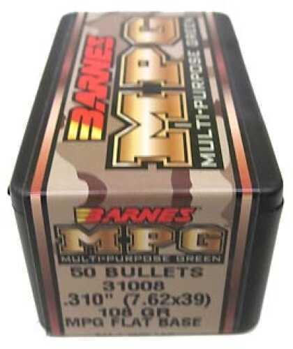 Barnes Bullets MPG(Multi-Purpose Green) Bullets 7.62x39 ...