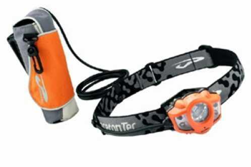 Princeton Tec LED Headlamp Apex Extreme, White LED, Orange APXC-EXT