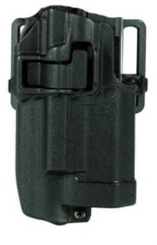 BlackHawk Products Group Serpa CF, Belt & Paddle Holster, Plain Matte Black Finish Right Hand, Sig 220 + Xiphos 414506BK-R