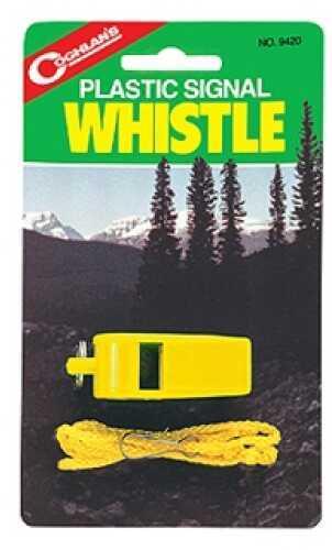 Coghlans Signal Whistle - Yellow Plastic 9420