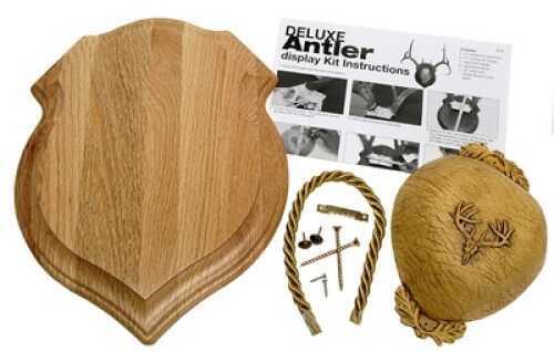 Walnut Hollow Deluxe Antler Display Kit Oak 29429