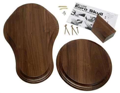 Walnut Hollow Deluxe Euro Skull Display Kit Walnut 29474