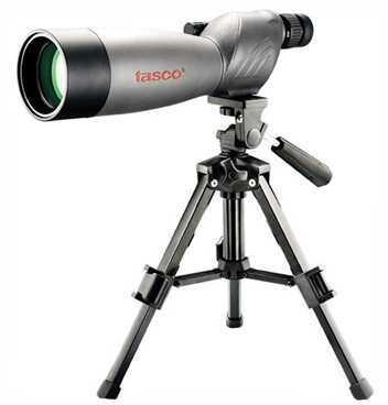 Tasco World Class Spotting Scope 20-60x60mm Gray/Black Porro w/Tripod WC206060