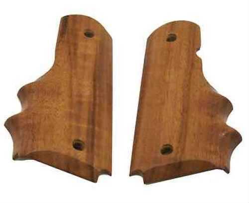 Hogue Wood Grip - Goncalo Alves Colt Government w/ Finger Grooves 45200
