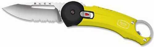 Buck Redpoint, Yellow, Stainless Steel Belt C