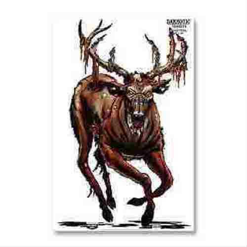 "Birchwood Casey Darkotic 12""x18"" Targets, 8-Pack Blood Trail 35635"
