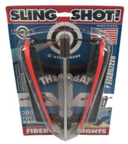 Trumark The Bat Slingshot, Stabilizer, Fiber Optic Sights BAT-007