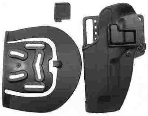 BlackHawk Products Group Serpa CF, Belt & Paddle Holster, Plain Matte Black Finish Beretta 92/96, Left Hand 410504BK-L