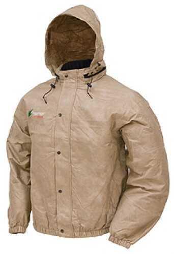 Frogg Toggs Pro Action Jacket Khaki Small PA63102-04SM