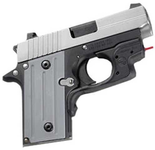Crimson Trace Sig Sauer P238 Laser Guard, Polymer, Over mold, Front Activation Md: LG-492H-S