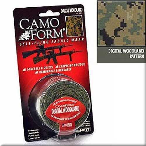 McNett Camo Form Woodland Digital Military 19412