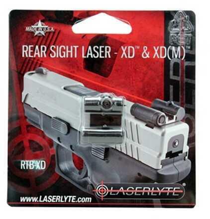 LaserLyte Rear Sight Laser XD/XDMs RTB-XD