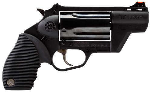 """Taurus Model """"The Judge"""" 410 Gauge / 45 Long Colt Public Defender Ultralite 2"""" Barrel 5 Round Blued Polymer Frame Revolver 2441021PFS"""