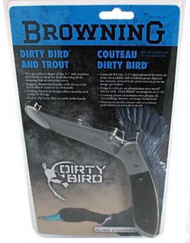 Browning Dirty Bird & Trout Folding Knife Black 322338