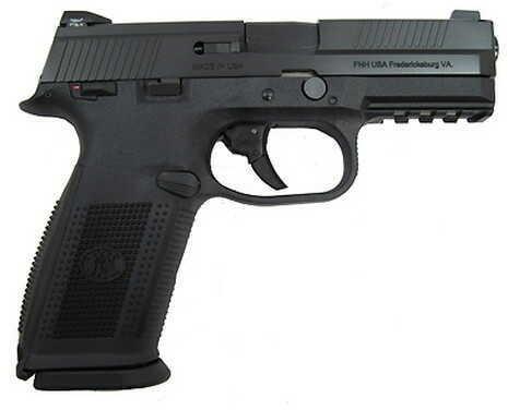 Pistol FNH USA FNS-9 DA Manual Safety Night Sights 9mm Luger 17 Round Black/Black Slide 66927