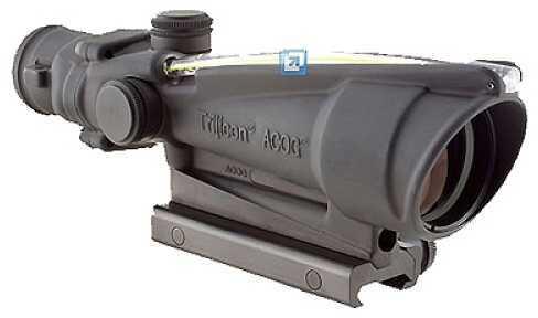 Trijicon ACOG 3.5x35 Dual Illuminated Amber Chevron 308 Ballistic TA11E-A