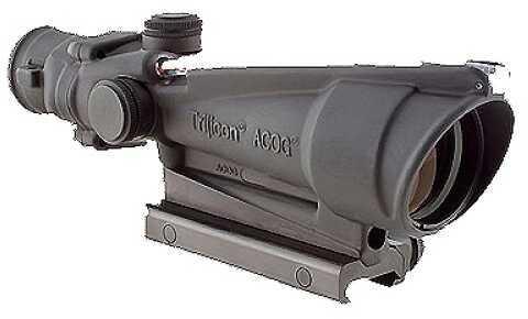 Trijicon ACOG 3.5x35 Dual Illuminated Red Horse Shoe Dot 223 Ballistic TA11H