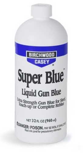 Birchwood Casey Super Blue Liquid Gun Blue 32 oz 13432