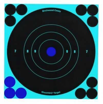 """Birchwood Casey Shoot-N-C Targets: Bull's-Eye 6"""", Per 1000 34585"""