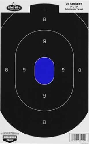 "Birchwood Casey Dirty Bird 6"" x 10"" Silhouette Target (Per 25) 35612"