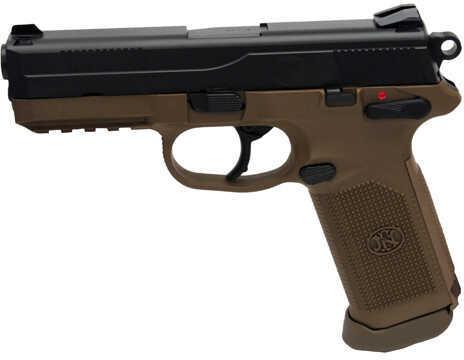 Pistol FNH USA FNX-45 USG DA/SA Manual Safety, 45 ACP 15 Round Flat Dark Earth/Black 66964