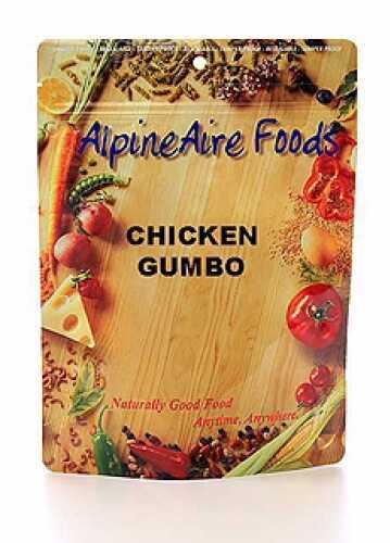 Alpine Aire Foods Chicken Gumbo Serves 2 10309
