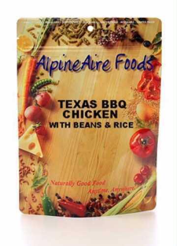 Alpine Aire Foods Texas BBQ Chicken w/Beans Serves 2 10406