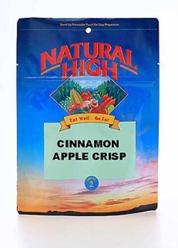 Natural High Cinnamon Apple Crisp Serves 2 00215