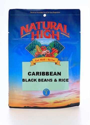 Natural High Caribbean Black Beans & Rice Serves 2 00427