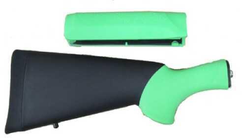 Hogue Remington Rubber Overmolded Stock Zombie Green, Reminton 870 Shotgun Kit 08713