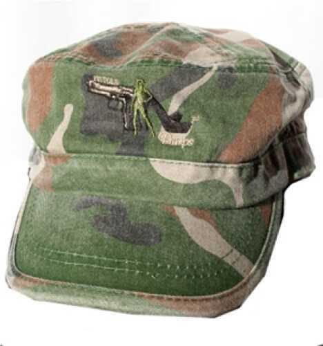 Pistols and Pumps Military Cap PP004-BLK