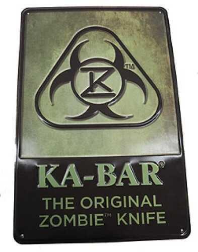 Ka-Bar Zombie Original Sign/Tin 1-5700SIGN-4