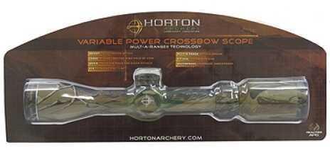 Horton Hawke 2-7x32mm Scope Realtree APG Camo SS330