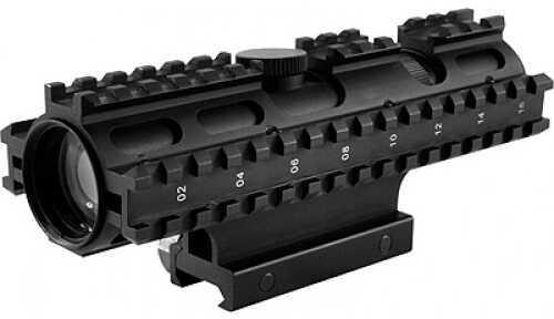 NcStar Tactical 3-Rail Sighting System 2-7x32/Mil-Dot/GN/Weaver Moun SC3RSM2732G