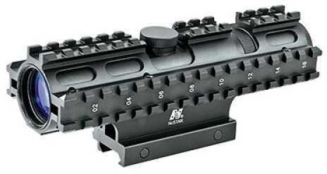 NcStar Tactical 3-Rail Sighting System 3-9x42/Mil-Dot/Weaver Mount SC3RSM3942G