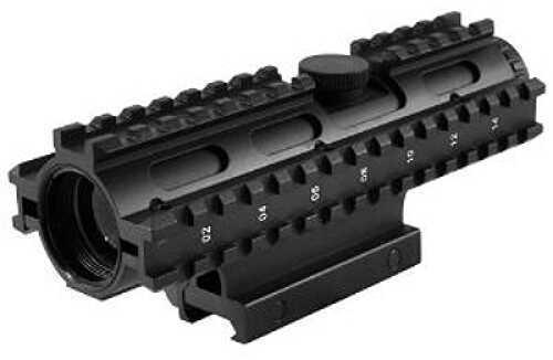 NcStar Tactical 3-Rail Sighting System 4x32/P4 Sniper/Blue/Weaver Mount SC3RSP432B