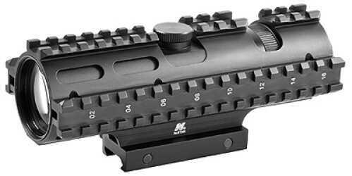 NcStar Tactical 3-Rail Sighting System 3-9x42/Rangefinder/Weaver Mount SC3RSR3942G