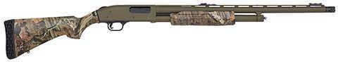 "Mossberg 500 Flex 12 Gauge 24"" Barrel Fiber Optic Sights Blued 6 Round Shotgun 55122"