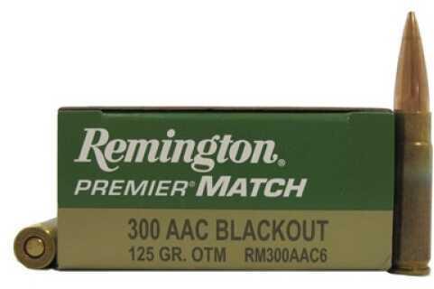 Remington 300AAC Blackout 125gr /20 RM300AAC6