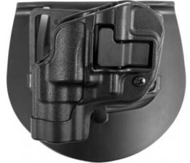 BlackHawk Products Group Serpa CF, Belt & Paddle Holster, Plain Matte Black Finish Matte Left Hand S&W 5900/4000 410510BK-L