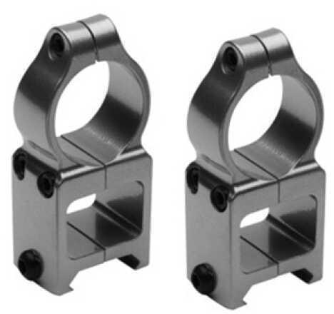 CVA Z2 Alloy Scope Rings See-Thru, Silver DS301S