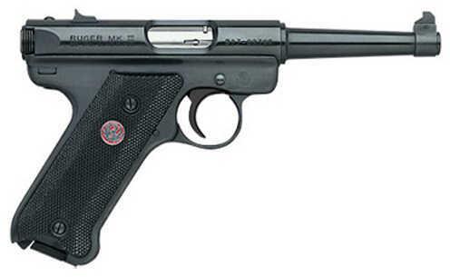 "Ruger MKIII Mark III 22 Long Rifle Pistol 4.75"" Blued Barrel 10 Round"