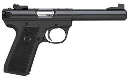 "Ruger P512MKIII 22/45 22LR Pistol 5.5"" Bull Barrel Blued Molded Grip 10 Round"