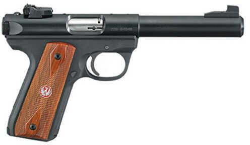 "Ruger Mark III P512MK III RP 22 Long Rifle Pistol 5.5"" Bull Barrel Blued 10 Round 10140"